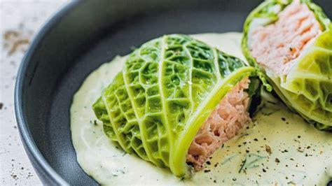 recette de chou farci au saumon l 39 express styles