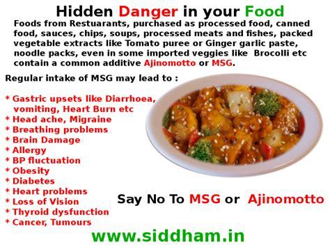 glutamate cuisine danger in your food msg or ajinomotto