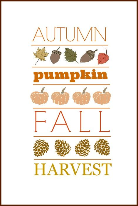 10 Free Fall Printables  On Sutton Place