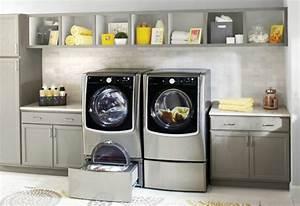 Meuble Rangement Buanderie : meuble buanderie l 39 tag re parfaite pour le rangement ~ Melissatoandfro.com Idées de Décoration