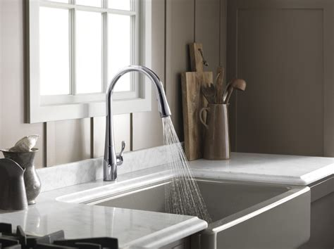 what are kitchen sinks made out of kohler k 597 vs simplice vibrant stainless steel pullout 9830