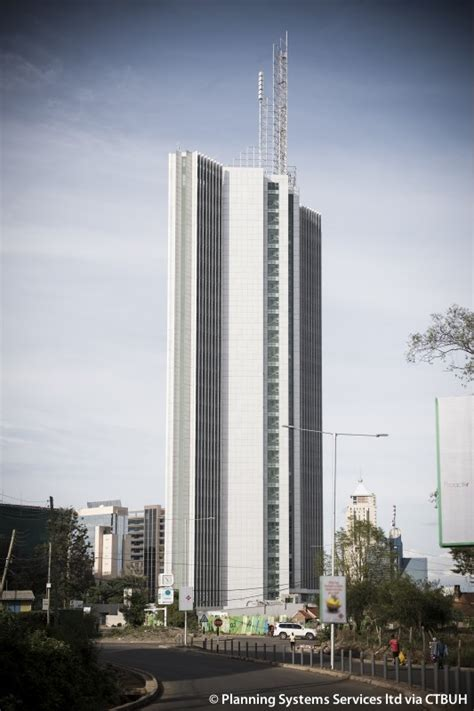 kenya commercial bank plaza  skyscraper center