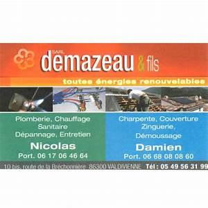 Plombier Saint Maurice : sarl demazeau jean yves fils plombier valdivienne ~ Premium-room.com Idées de Décoration