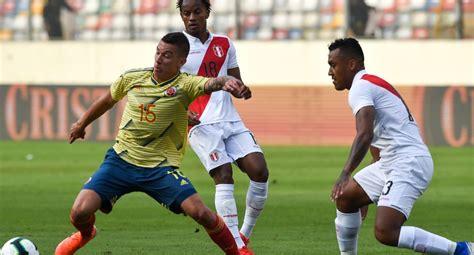 Para ver el perú vs. Perú vs. Colombia EN VIVO   Alineaciones confirmadas para ...