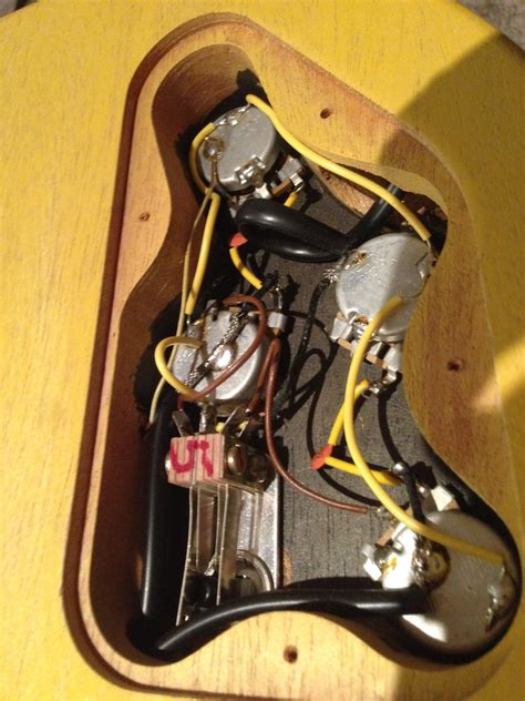 Gibson Les Paul Special Odd Wiring The Gear Page
