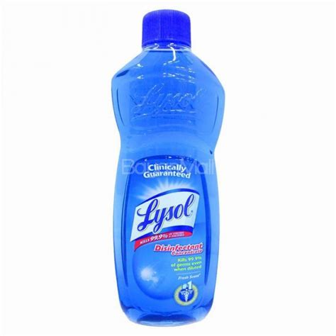 Lysol Floor Cleaner Concentrate by Lysol Liquid Disinfectant Concentrate Fresh Scent 500ml