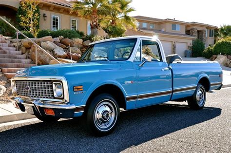 best light pickup truck 17 best images about light blue 1971 chevy c10 custom on