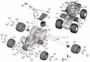 Power Wheels B9273 Parts List And Diagram   Ereplacementparts Com