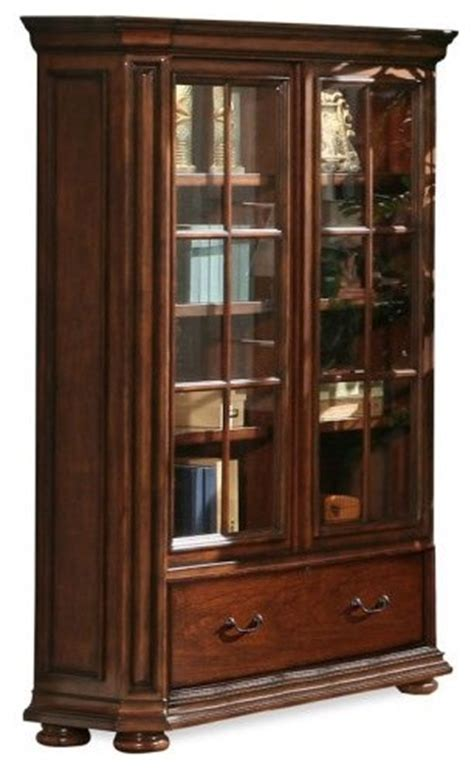 Office Bookcases With Doors by Riverside Cantata Windowpane Bookcase With Doors