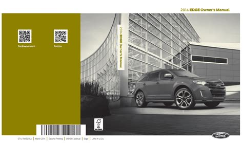 ford edge owners manual ownermanual