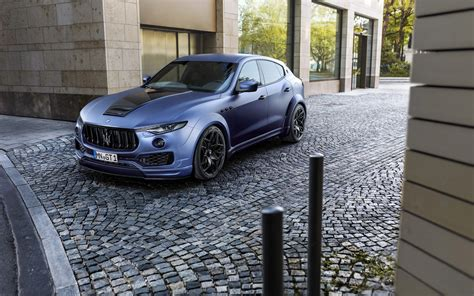 2017 Novitec Maserati Levante Esteso 4k Wallpapers Hd