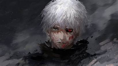 Ghoul Kaneki Tokyo Ken Anime Face Guy
