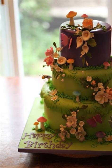 Best  E Hanted Forest Cake  Ee  Ideas Ee   On Pinterest