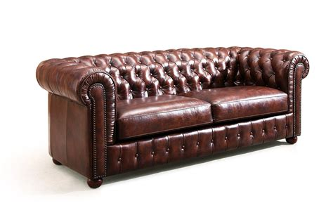 canapé vintage cuir the original chesterfield sofa and