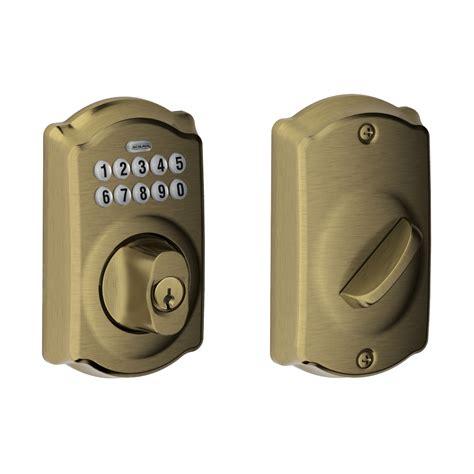 schlage door locks schlage camelot keyless deadbolt