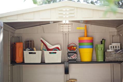 keter shelves for sheds keter factor 6 215 6 shelves quality plastic sheds