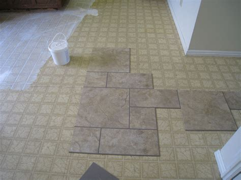 pattern tile floor vinyl flooring patterns and pattern emerges once the first were laid the rest of the