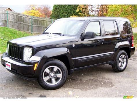 jeep liberty 2008 brilliant black crystal pearl 2008 jeep liberty sport 4x4