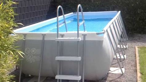 frame pool rechteckig intex ultra frame 4x2m pool