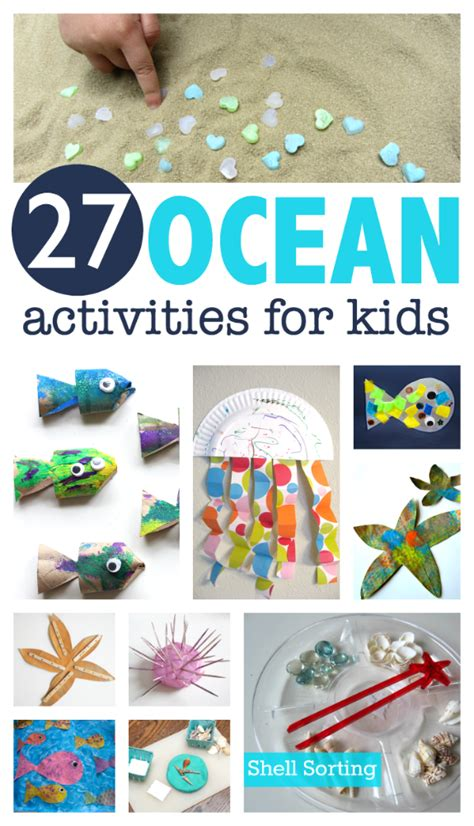 27 activities for preschool no time for flash cards 572 | 27 Ocean Activities For Kids