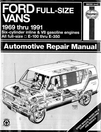 download car manuals 1993 ford econoline e350 parking system 1993 ford e350 owners manual download