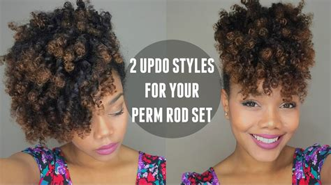 ways to style permed hair rod hairstyles for hair fade haircut 2147