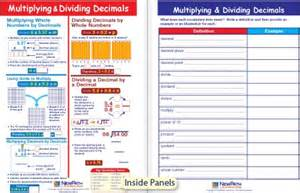 Multiplying Dividing Decimals