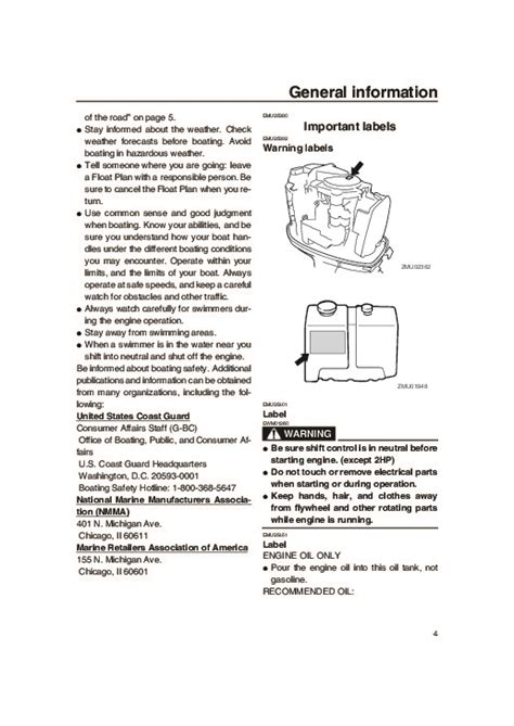 Yamaha Outboard Motor Owner S Manual by 2004 Yamaha Outboard Vz300c Boat Motor Owners Manual