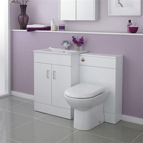 modena high gloss white vanity unit bathroom suite