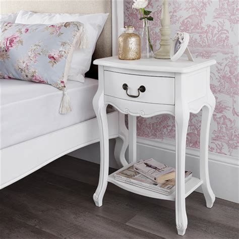 shabby chic bedside tables uk shabby chic white bedroom furniture bedside tables dressing tables wardrobe ebay