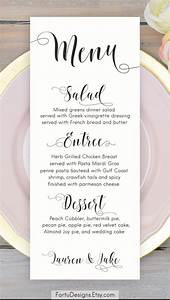 best 25 wedding menu cards ideas on pinterest menu With images of wedding menu cards
