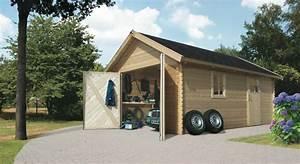 Tür Garage Haus : garage karibu einzel holzgarage 372x522cm 40 mm fenster seitliche t r kaufen im holz ~ Sanjose-hotels-ca.com Haus und Dekorationen