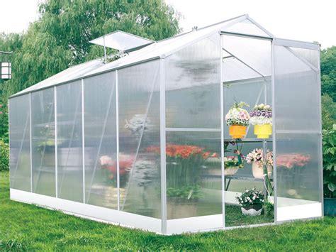 serre jardin polycarbonate quot lilas quot 6m 178 52400
