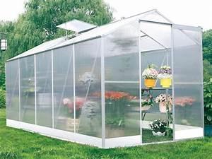 Construire Une Serre Pas Cher : serre jardin polycarbonate lilas 6m 52400 ~ Premium-room.com Idées de Décoration