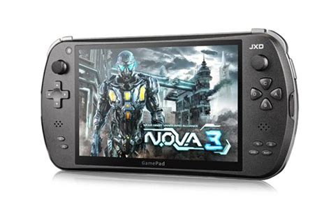 jxd  android  handheld games console launches