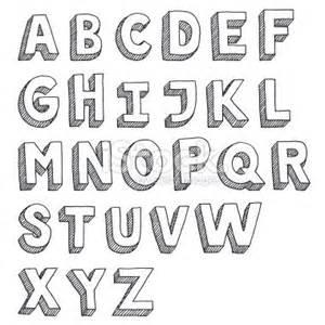 Image Gallery serif alphabet