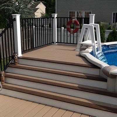 Composite Decking Around Pool