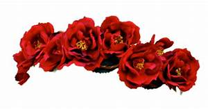 Red Flower Crown Transparent