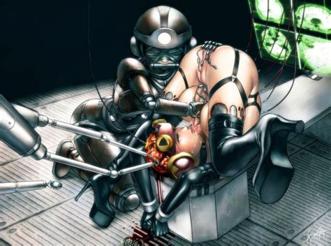00s android autofellatio bdsm bondage bound brain breasts capcom cum elbow gloves fellatio ...
