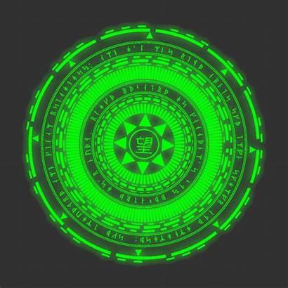 Anime Magic Circle Spell Animation Symbols Transparent