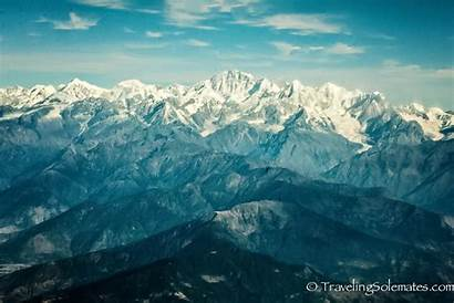 Everest Nepal Mountain Mt Scenic Flight Himalayas