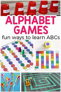 alphabet games for preschool and kindergarten With learn your letters game