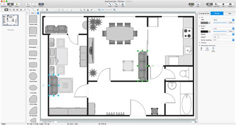building plans basic floor plans solution conceptdraw