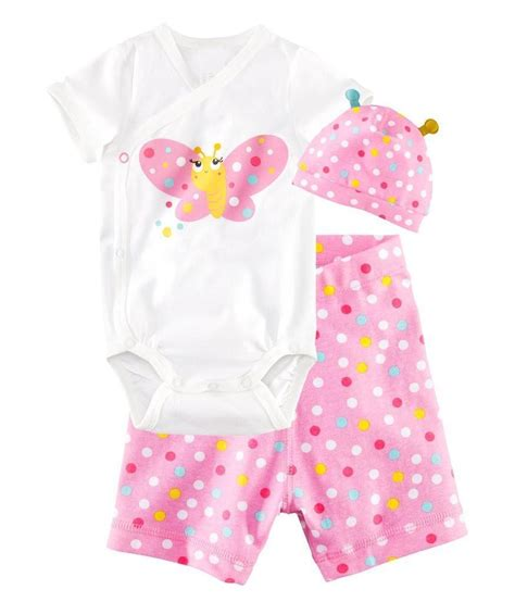 Newborn Baby Girl Outfits Infant Clothing Baby Girl Summer Clothes Vetement ( Romper+Headband+Pants)