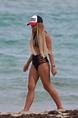 ANYA TAYLOR-JOY in Bikini at a Beach in Miami 06/02/2018 ...