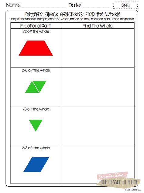 printable pattern block worksheets transportation