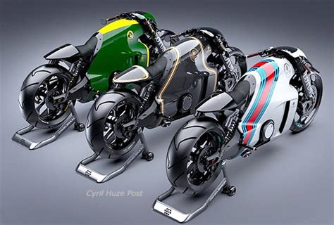New Lotus C-01 Motorcycle Is Ready To Roar At Cyril Huze