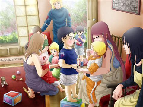 Konoha Family By Zhyrhe On Deviantart
