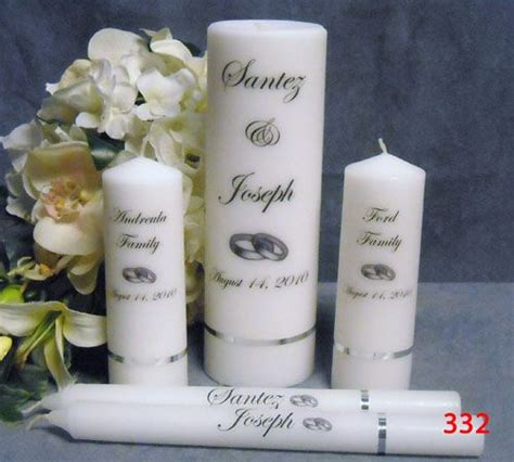 personalized candles personalized wedding favours canada
