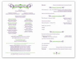 free wedding ceremony program template krista graphic With wedding ceremony program template